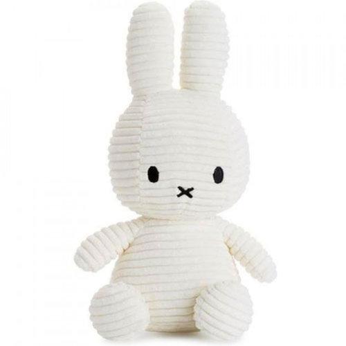 Nijntje / Miffy Corduroy White - 24 cm