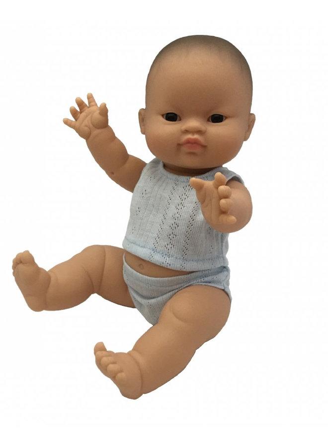 Pop Gordi jongen (Azia.), ondergoed 34cm