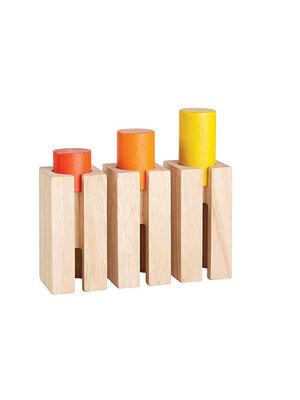 Plan Toys Hoogte en diepte blokken