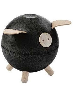 Plan Toys Piggy bank - Black