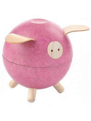 Plan Toys Piggy bank - Pink