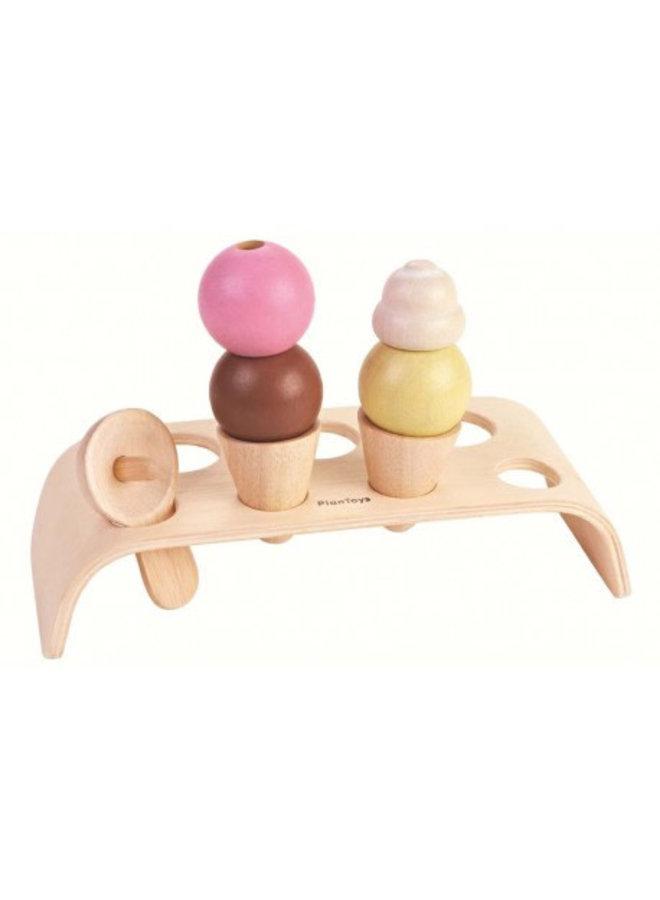 Plan Toys - Ice Cream set