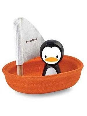 Plan Toys Sailing Boat Penguin