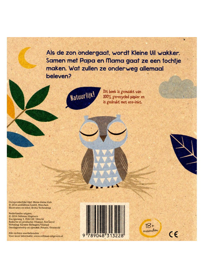 Veltman Uitgevers - Britta Teckentrup - Mijn Kleine Uil