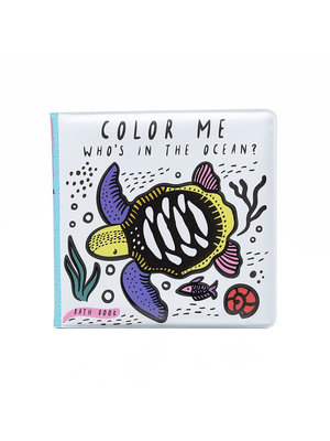 Wee Gallery Color Me - Who's in the ocean