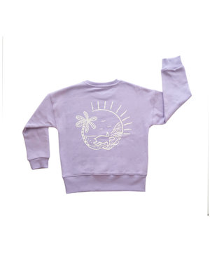Ammehoela Sweater Lila Ocean