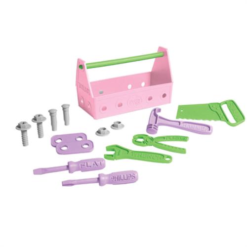Green Toys Tool Set (Pink)