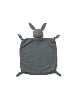 Liewood Agnete / Cuddle Cloth - Rabbit stone grey