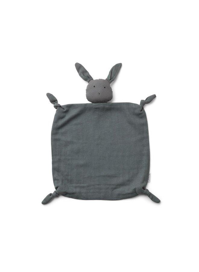 Liewood - Agnete / Cuddle Cloth - Rabbit stone grey