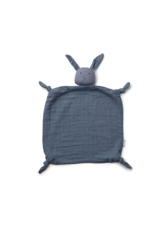 Liewood - Agnete / Cuddle Cloth - Rabbit blue wave