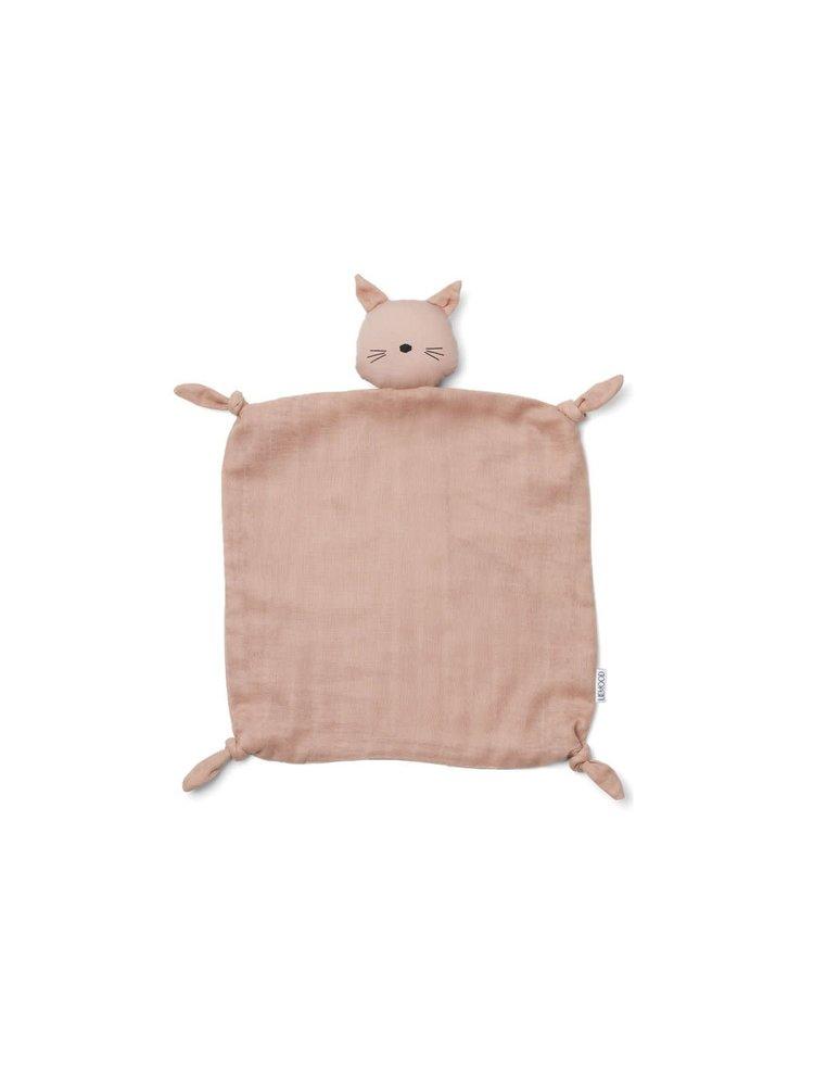 Liewood Agnete / Cuddle Cloth - Cat rose