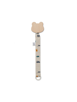 Liewood Sia pacifier strap - Cars