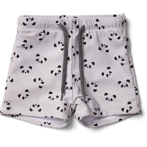 Liewood Otto swim pants - Panda dumbo grey