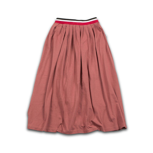 Cos I Said So Maxi Skirt - Whithered Rose