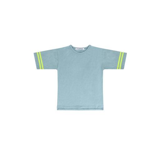 Mingo T-Shirt - Smoked blue / sun glow