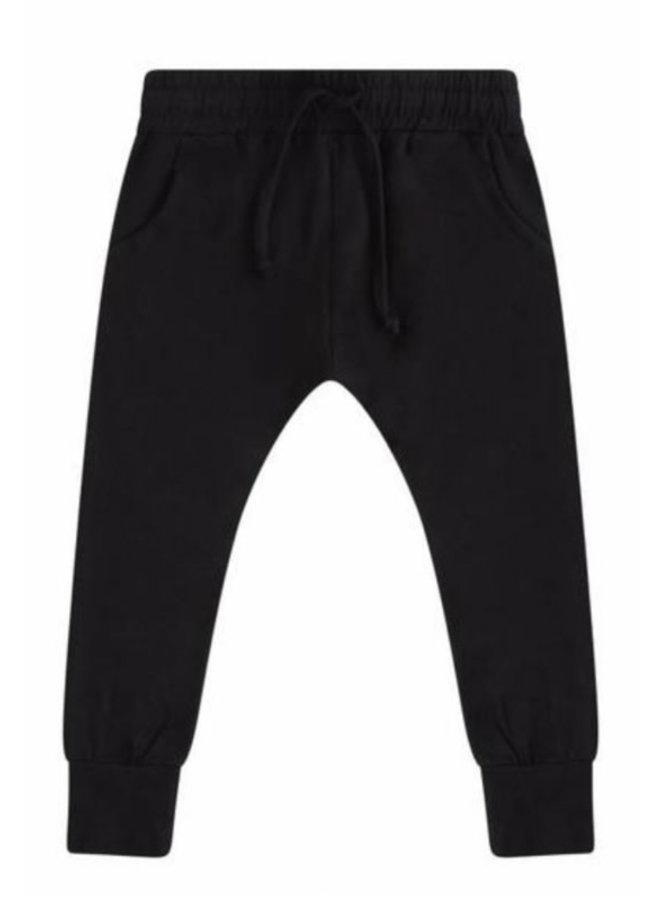 Slimfit jogger - Black