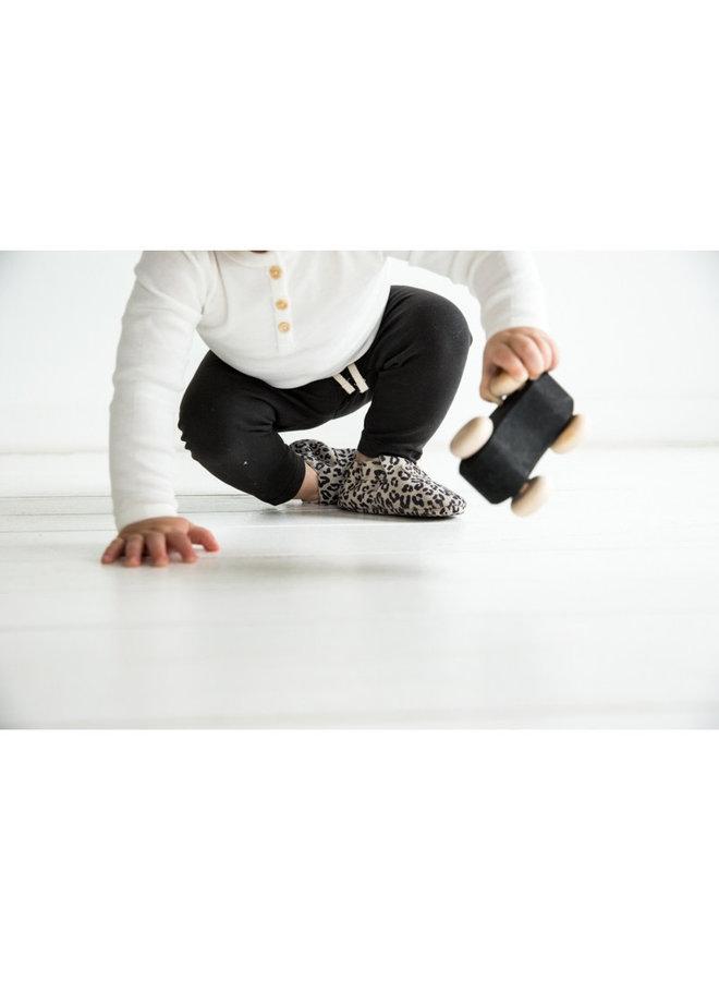 First Steps - Leopard Grey