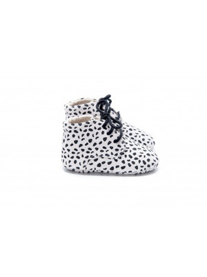 Mockies Classic Boots - Speckle White