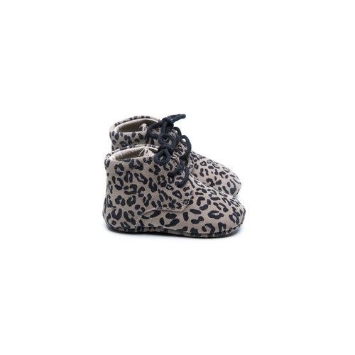Mockies Classic Boots - Leopard Grey