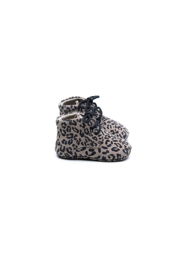 Mockies - Classic Boots - Leopard Grey