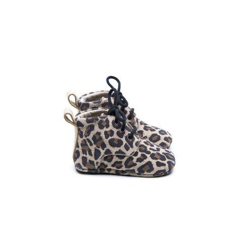 Mockies Classic Boots - Leopard / Gold