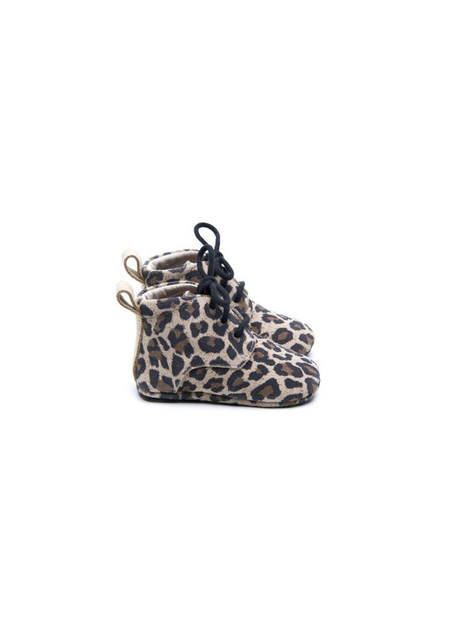 Classic Boots - Leopard / Gold