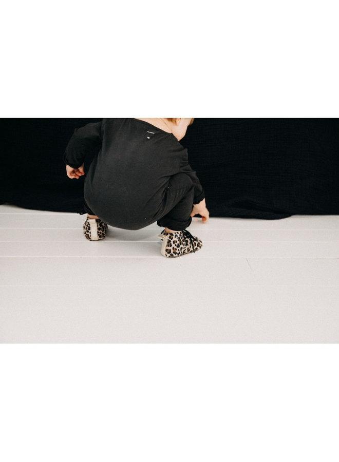 Mockies - Classic Boots - Leopard / Gold