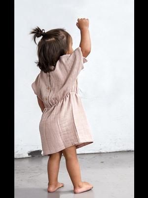 Flair Dress – Old Pink