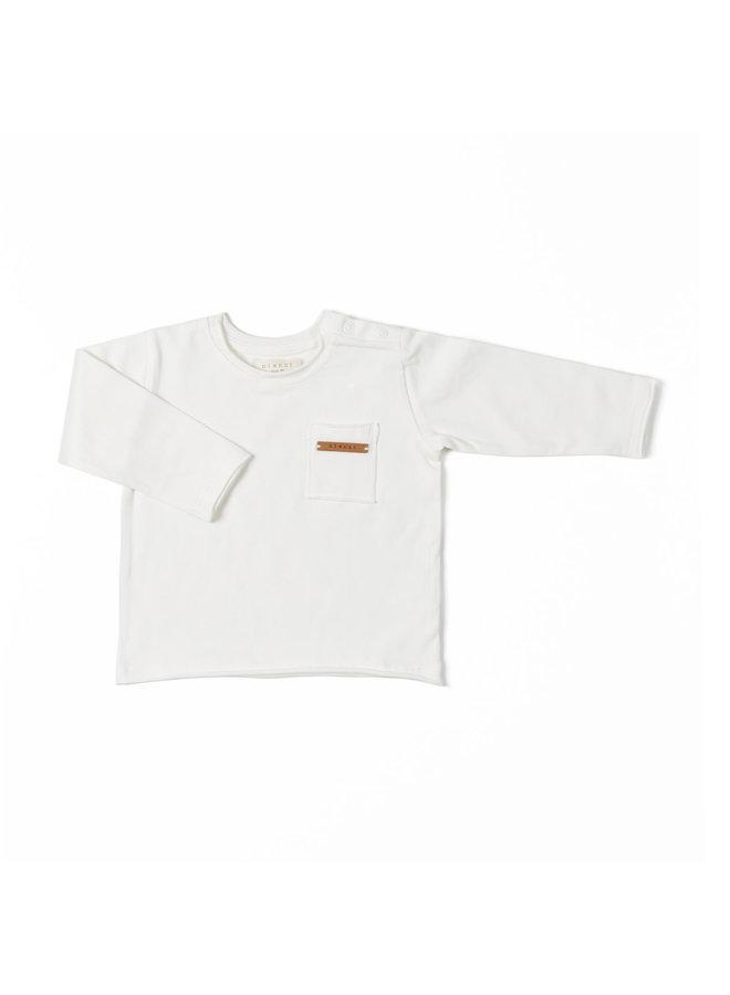 Longsleeve - Off White - Basic
