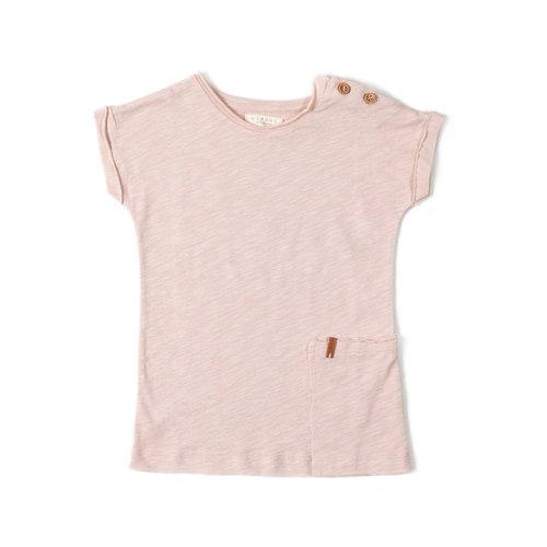 Nixnut T-shirt Dress - Old Pink