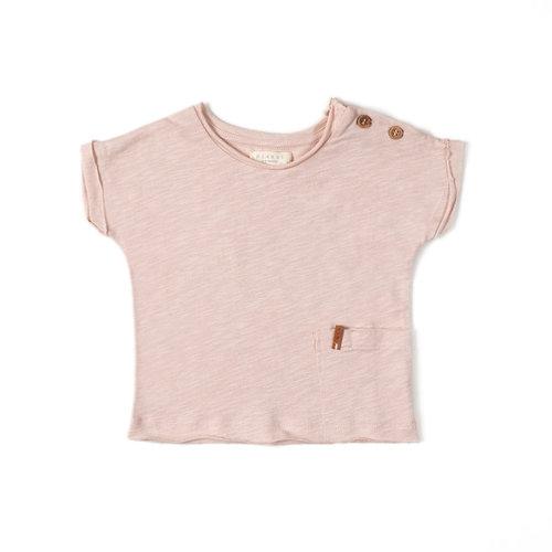 Nixnut T-Shirt - Old Pink