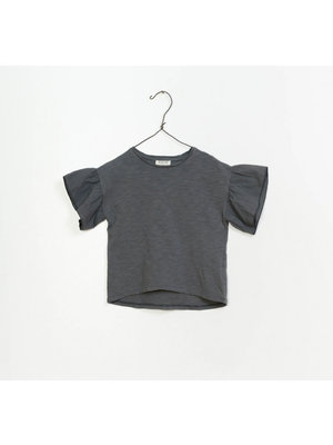 Play Up Flamé Jersey T-shirt - Grey