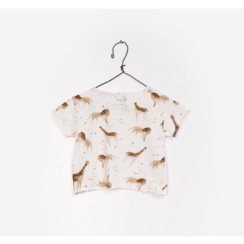 Play Up Printed Flamé Jersey T-Shirt - Lion