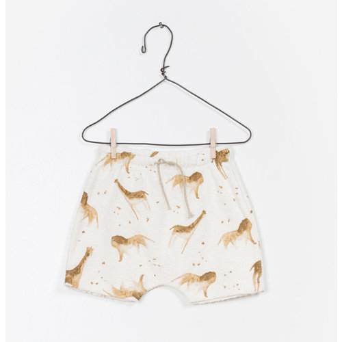 Play Up Printed Terry Shorts