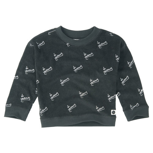 Sproet & Sprout Boxy Sweater 'No Vacancy AOP'