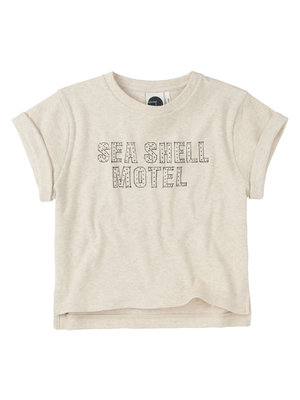 Sproet & Sprout Boxy T-Shirt 'Seashell Motel'
