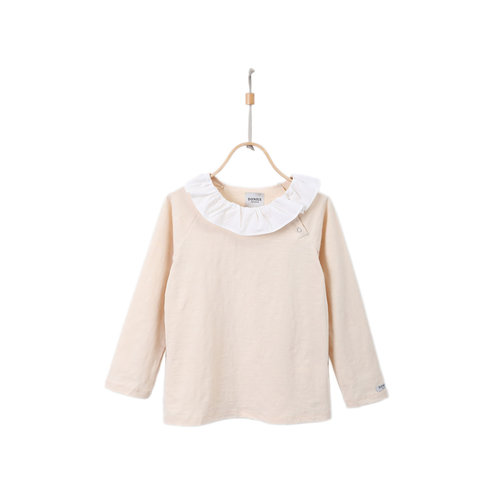 Donsje Amsterdam Augusta Shirt - Macadamia Cotton