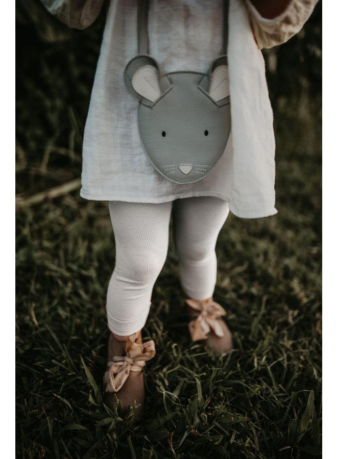Fia Leggings - Cream Cotton
