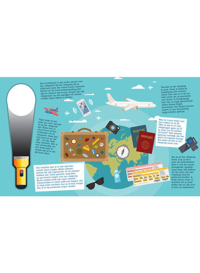 Zoekboek - Voor het eerst met het vliegtuig