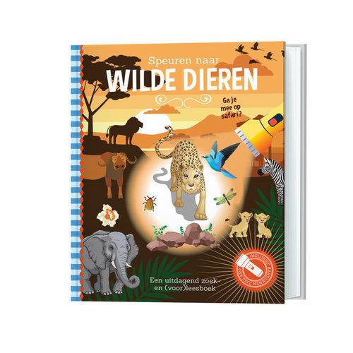 Lantaarn Publishers Zoekboek - Speuren naar wilde dieren