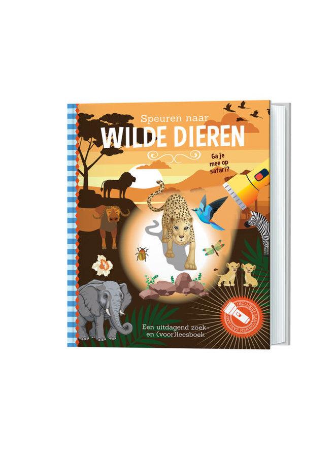 Zoekboek - Speuren naar wilde dieren