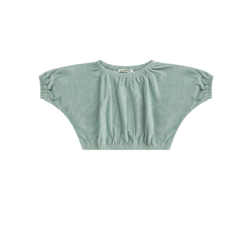 Mingo Cropped top - Mint - Terry Cloth