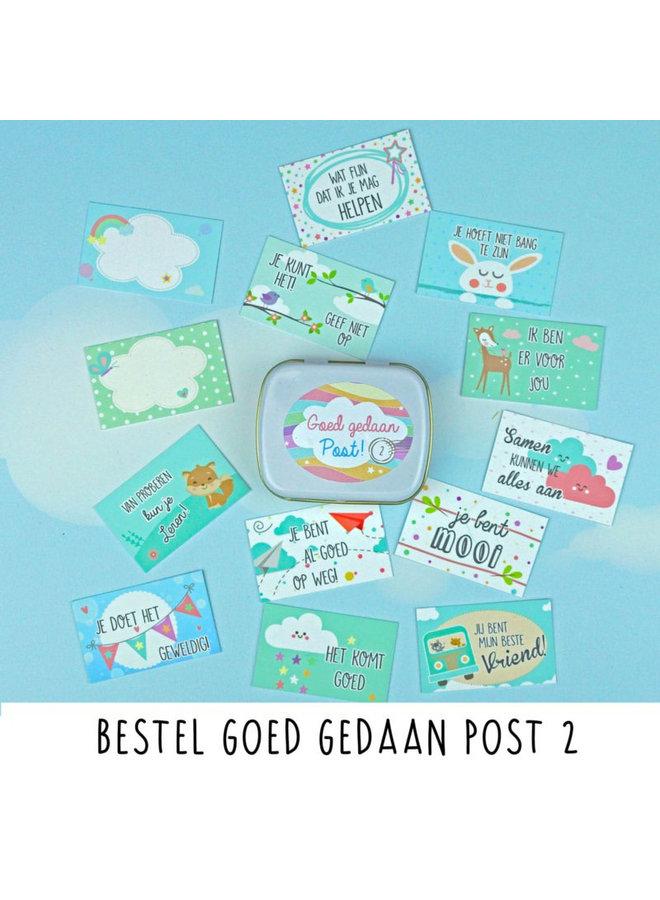 Goed Gedaan Post - Versie 2