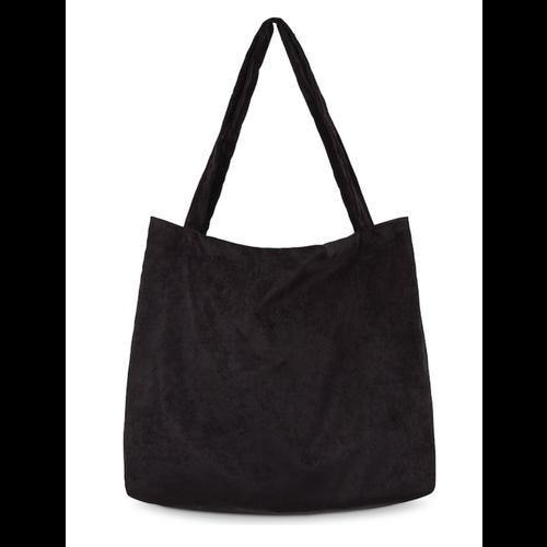 Studio Noos All black rib mom-bag
