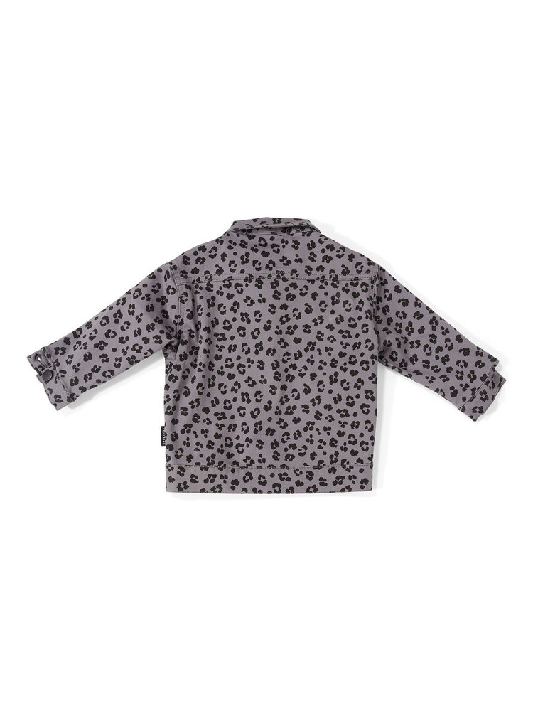 Daily Brat Riley Leopard Jacket Soft Dusk