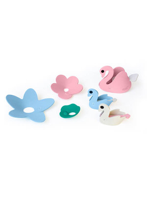 Quutopia 3D bath puzzle swan lake