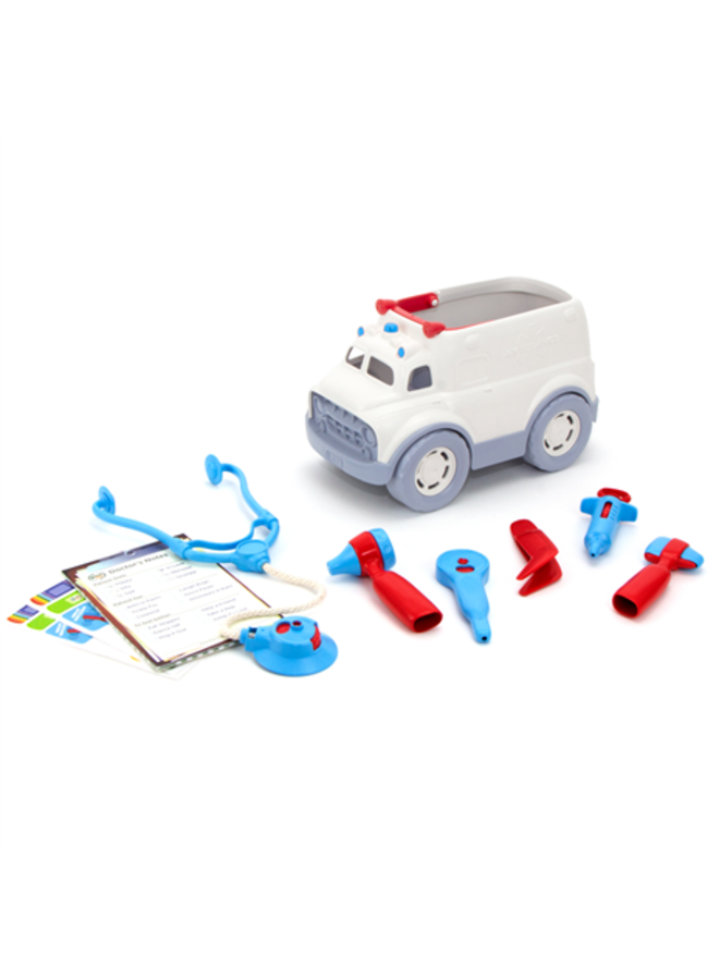 Green Toys - Ambulance and Doctor's Kit