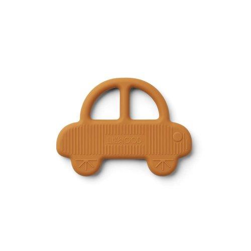 Liewood Gemma Teether - Car Mustard