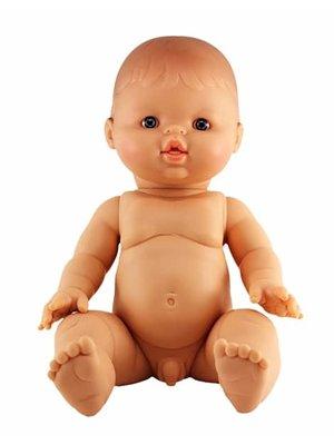 Paola Reina Pop Gordi jongen (blank), ongekl. 34cm
