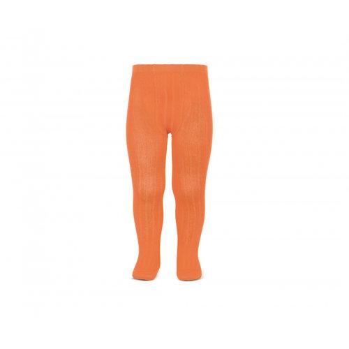 Condor Basic rib tights - Pumpkin - 691